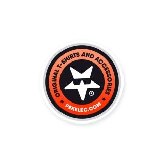 PEKELEC.COM Round Sticker