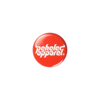 Pekelec Apparel Orange Pin